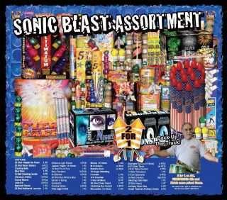 Sonic Blast Assortment