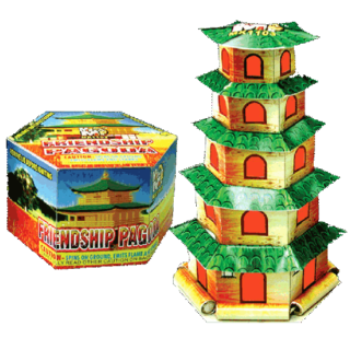 friendship pagoda