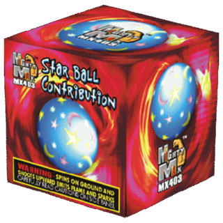 "3"" Star Ball Contribution"