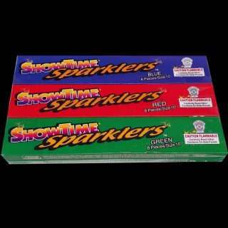 color sparklers